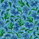 Square,No People,Lily,Illustration,Seamless Pattern,Pattern,Floral Pattern