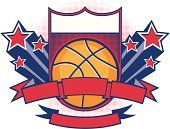 Basketball - Sport,Basketball,Star - Space,Success,Banner,Winning,Star Trail,Coat Of Arms,Star Shape,Sport,Vector,Three-dimensional Shape,Exploding,American Culture,Ilustration,Shape,Halftone Pattern,Team Sports,Sports And Fitness,Sports Team,Blank,Copy Space