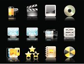 Symbol,Computer Icon,Video,Multimedia,Icon Set,Movie,Film,Internet,The Media,DVD,Photograph,Set,Music,Book,rating,CD-ROM,Photography,Color Image,Web Page,Push Button,Photo Album,Interface Icons,Rolled Up,Home Video Camera,Film Industry,Paintings,Film Slate,Computer Keyboard,Film Reel,Reflection,Camera Film,Star Shape,Design Element,Burning,Vector,Sound Mixer,Isolated Objects,Arts And Entertainment,Illustrations And Vector Art,Web 2 0
