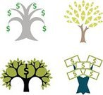 Money Tree,Currency,Tree,Growth,Sign,Finance,Symbol,US Paper Currency,Home Finances,Leaf,Dollar Sign,Wealth,Vector,monetary,Branch,Illustrations And Vector Art