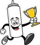 60983,Success,Cup,Trophy,Award,Ingredient,Winning,Cartoon,First Place,Illustration,Mascot,Sport,Food,Run,Running,Athlete,Jogging,Container,Unhealthy Eating,Condiment,Lifestyles,Vector,Mayonnaise,Jumping,Bottle