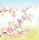 Blossom,Tranquil Scene,Non-Urban Scene,Japanese Culture,Tree,Flower,Ilustration,Vector,East Asian Culture,Backgrounds,Art,Pink Color,Springtime,Flower Head,Romance,Breakfast,Design,Floral Pattern,Computer Graphic,Style,Beauty,Nature,Painted Image,Outdoors,Petal,Beauty In Nature,Elegance,Design Element,Part Of,Bright,Sakura Matsuri,Illustrations And Vector Art,Ornate,Vector Florals,Arts Backgrounds,Spring,Arts And Entertainment,Nature