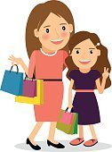 People,Teenage Girls,Vector,Women,Daughter,Fashion,Mother,Goodie Bag,Bag,Dress,Characters,Day,Gift Shop,Parent,smiling girl,happy family,Togetherness,White,Lifestyles,Elegance,mother and child,Brown Hair,Joy,Family,Smiling,Bonding,Shopping Bag,Mom And Daughter,Cute,Shopping