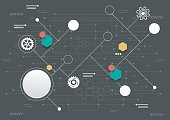 Abstract,Cyberspace,Futuristic,Creativity,Complexity,Order,No People,Equipment,Hexagon,Computer Software,Geometric Shape,Science,Illustration,Big Data,Machine Part,Gear,Business Finance and Industry,Data,Internet,Technology,Space,Backgrounds,Business,Vector