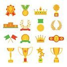Gold Colored,Metal,Sport,First Place,Badge,Banner,Victory,Competitive Sport,Medallion,Award,Illustration,Collection,Insignia,Flag,Success,Design Professional,Achievement,Set,Medal,Gold Medal,Computer Icon,Crown,Isolated,Arranging,Ribbon,Winning,Cup,Design,Sign,Honor,Trophy,Business,Part Of,Design Element,Silhouette,Shield,Certificate,Vector,Symbol,Star - Space,Flat,Single Object,Incentive,Leadership,Computer Graphic,Star Shape