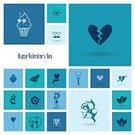 Greeting Card,Symbol,Backgrounds,Illustration,Design,Wedding,Computer Icon,Flat,Sign,Design Element,Arrow Symbol,Flower,Blue,Ring,Set,Party - Social Event,Kissing,Calendar,Romance,Monochrome,Heart Shape,Love,Decoration,Happiness,Cheerful,Holiday,Valentine's Day - Holiday,Valentine Card,Celebration,Vector,Jewelry,Gift,Rose - Flower,Diamond Shaped,Collection,February,Bird,Simplicity
