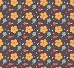 Summer,Blue,Textile,Illustration,Nature,Abstract,Backgrounds,Seamless,Floral Pattern,Vector,Flower,Pattern