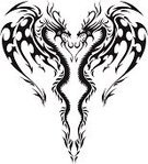 Dragon,Tattoo,Chinese Dragon,Heart Shape,Wing,Design,Pattern,Vector,Love,Grunge,Black And White,Insignia,Outline,Black Color,Silhouette,Drawing - Art Product,Symbol,Mythology,Ilustration,Symmetry,Cute,Valentine's Day - Holiday,Body Adornment,Two Animals,Back Lit,Fantasy,Design Element,Things That Go Together,Passion,White Background,Loving,Pair,Gray,No People,Care,Reflection,Textured,Arts And Entertainment,Japanese Dragon,Ornate