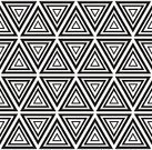 Geometric Shape,Seamless,Black Color,Pattern,Backgrounds,Vector,Illustration