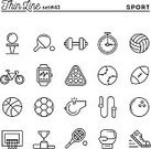 Computer Icon,Symbol,Single Line,Golf,Volleyball - Ball,Volleyball - Sport,Pool Game,Watch,Gym,Weights,Coach,Thin,Flat,Sport,Bowling,Sign,Taking Pulse,Success,Rope,Straight,Design,Cycling,Sports Training,Whistle,Basketball - Sport,Football - Ball,Intelligence,Jogging,Tennis,Baseball - Sport,Rugby,Soccer,Illustration,Modern,Ball,Soccer Ball,Outline,Recreational Pursuit,Winning,Baseball - Ball,Human Muscle,Occupation,Table,Vector,American Football - Sport,Set,Strength,Running,Boxing,Concepts,Basketball - Ball,Activity,Art,Ideas,Picking Up,Stopwatch