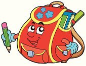 Cartoon,Satchel - Bag,Backpack,School Building,Education,Bag,Book,Human Face,Pencil,Vector,Elementary Student,Equipment,Flower,Crayon,Classroom,Human Hand,Ruler,Human Eye,Childhood,Wisdom,Ilustration,Happiness,Learning,Red,Smiling,Expertise,Colors,Textile,Drawing - Art Product,Color Image,Design,Art,Smiley Face,Bookmark,Pocket,Single Object,Multi Colored,Looking,Industry,Education,Textbook,Objects with Clipping Paths,Isolated Objects,Art Product,Isolated,Illustrations And Vector Art