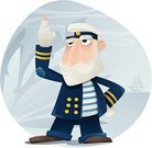 Boat Captain,Sailor,Sea,Nautical Vessel,Men,Senior Men,Cartoon,Adventure,Vector,Sailor Hat,Authority,Shoe,Senior Adult,Male,Characters,Occupation,Uniform,Mustache,Ilustration,Gray,Beard,Blue Eyes,Standing,T-Shirt,Blue,White,Button,Gold,Eyebrow,Gold Colored,Image,Inspiration,Palm Tree,Ideas,Initiative,Brown,Sky,One Person,Gray Hair,Seniors,People,Lifestyle,Shadow,Vector Cartoons,Illustrations And Vector Art