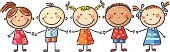Child,Cartoon,Little Boys,Little Girls,Drawing - Art Product,Happiness,Friendship,People,Cute,Childhood,Small,Child's Drawing,Group Of People,Multi-Ethnic Group,Sketch,Holding Hands,Ethnic,Communication,Isolated,Togetherness,Unity,Ethnicity,Preschooler,Team,Standing,Mixed Race Person,Multi Colored,Symbols Of Peace,Children Only,White Background,Peace On Earth,Elementary Age,Multi National