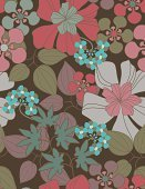Floral Pattern,Flower,Pattern,Hawaiian Culture,Textile,Tropical Climate,Seamless,Abstract,Hula Dancing,Design,Backgrounds,Vector,Aloha,Exoticism,Summer,Repetition,Sarong,Blossom,Fabric Swatch,Ornate,Vacations,Travel Destinations,Wallpaper Pattern,Vector Florals,Big Island,Illustrations And Vector Art