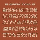 Symbol,Bread,In A Row,Vector,Sign,Design Element,Bakery