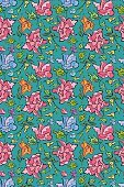 Seamless,seamless pattern,seamless texture,Doodle,Cartoon,Flower Seamless,Floral Pattern,Animated Cartoon,Single Flower,Flower Abstract,seamless background,Floral Wallpaper,Floral Ornament,floral ornament,Cartoon Background,seamless wallpaper,flower ornament,Flower Vector