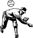 Baseball - Sport,Baseball Player,Pitcher,Baseballs,Ilustration,Baseball Glove,Vector,Sport,Throwing,Black And White,Baseball Cap,Competitive Sport,Athlete,Competition,Pen And Ink,Team Sport,Drawing - Art Product,Fast Ball,Baseball Pitcher,hand drawn