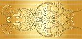 Backgrounds,Floral Pattern,Flower,Gold Colored,Classic,Design,Pattern,Engraving,Frame,Engraved Image,Celebration,Scroll Shape,Vector,Simplicity,Color Gradient,Design Element,Ornate,Beauty,Elegance,Valentine's Day - Holiday,Spiral,Copy Space,Beautiful,Holiday,Swirl