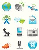 Satellite,Newspaper,Discussion,Telephone,Internet,Parabola,@,Communication,Computer Icon,Antenna - Aerial,Earth,Icon Set,Map,Megaphone,Mobile Phone,Set,Mail,Vector,World Map,Microphone,Planet - Space,Sphere,Ilustration,Vector Icons,Illustrations And Vector Art