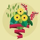 Illustration,Flower,Vector,Symbol,Leaf,Art,Floral Pattern,Single Flower,Isolated,Blossoming,Computer Icon,Painted Image,Bouquet,Decoration,Blossom