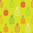 Pineapple,Cartoon,Shape,Doodle,Symbol,Nature,Freshness,Painted Image,Food,Wallpaper Pattern,Design,Fruit,Art,Textile,Image,Juicy,Vegetarian Food,Seamless,Continuity,Flower,Exoticism,Healthy Lifestyle,Ornate,Vegetable Garden,Drawing - Art Product,Illustration,Green Color,Decoration,Computer Graphic,Red,Backgrounds,Vector,Sweet Food,Print,Tropical Climate,Pattern,White,Part Of,Orange Color,Silhouette,Hawaii Islands,Ripe,Biological Culture,Repetition,Summer,Colors,Plant,Human Hand