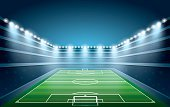 Grass,Soccer,Sport,Activity,Cup,Summer,Spotted,Winning,Stadium,Electric Lamp,Kicking,Illuminated,Night,Shiny,Backgrounds