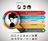 Infographic,Symbol,Computer Icon,Creativity,Plan,Vector,Staircase,Choice,Corporate Business,Illustration,Inspiration,template,Diagram,Design,Ideas,Multi Colored,Commercial Sign,Part Of,Marketing,Business,Data,Magnifying Glass,Globe - Man Made Object,Sphere,Computer Graphic