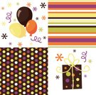 Polka Dot,Striped,Modern,Pattern,Confetti,Retro Revival,Party - Social Event,Balloon,Fun,Gift,Surprise,Celebration,Parties,Birthdays,Holidays And Celebrations