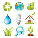 Environment,Symbol,Nature,Light Bulb,Computer Icon,Icon Set,Water,Clean,Energy,Green Color,Leaf,Earth,Drop,Recycling,Pollution,Globe - Man Made Object,Compact Fluorescent Lightbulb,Organic,Recycling Symbol,Vector,Lifestyles,Environmental Conservation,Raindrop,Map,Grass,Dirt,Life,Electricity,Plant,Fuel and Power Generation,Magnifying Glass,Loupe,Insect,Planet - Space,Butterfly - Insect,World Map,Protection,Alternative Energy,Growth,Blue,Ilustration,Ideas,Cleanup,Sphere,Dew,Africa,Earth Day,Concepts,Relief Map,Bud,Cartography,New Life,Europe,The Americas,White Background,Nature Friendly,Isolated On White,Energy   House