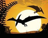 pterodactyloidea,Silhouette,Dinosaur,Background,Plant,Animal,Indigenous Culture,Contour Drawing,Illustration,Extinct,Jurassic,Flying,Night,Pteranodon,Backgrounds,Reptile,Pterodactyl,Vector