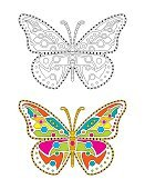 111645,61184,Abstract,Retro Styled,Ethnicity,Background,Old-fashioned,Ornate,Indigenous Culture,Illustration,Symbol,Animal Markings,Butterfly - Insect,Mandala,Decoration,Backgrounds,Vector,Pattern,Tattoo,Henna Tattoo