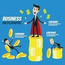 Growth,Business,Finance,Meeting,Adult,Illustration,Men,Businessman,Vector,Business Finance and Industry,Finance and Economy