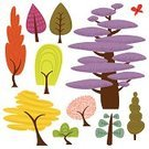 Tree,Retro Revival,Cartoon,Fun,Flower,Symbol,Forest,Cute,Butterfly - Insect,Nature,Sketch,Icon Set,Earth Day,Summer,Ilustration,Environment,Fruit Tree,Modern,Plant,Leaf,Set,Cheerful,Paint,Springtime,Design Element,Design,Bush,Multi Colored,Woodland,Drawing - Art Product,Clip Art,Style,Season,Blossom,Green Color,Concepts,Outdoors,Growth,Collection,Isolated,Ideas,White Background,Twig,Isolated-Background Objects,Illustrations And Vector Art,Nature,Isolated Objects,Plants