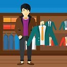 One Person,Cartoon,Illustration,People,Flat,Plan,Plan,Manager,Vector,Design