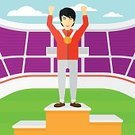 Sport,Leisure Games,Plan,Human Hand,People,One Person,Design,Vector,Cartoon,Flat