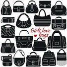 Purse,Ideas,Sparse,Infographic,Duffle Coat,White,Black Color,Wallpaper Pattern,Computer Graphic,Placard,Isolated,Backpack,Females,Tote Bag,Tramp,Painted Image,Classic,Sign,Satchel - Bag,Shopping,Coding,Store,Collection,Simplicity,Carrying,Feeding,Pattern,Design,Symbol,Bucket,Heart Shape,Leather,Backgrounds,Banner,Fashion,Elegance,Data,Shoulder,Briefcase,Personal Accessory,Outline,Internet,Style,Handle,Dress,Travel