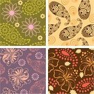 Paisley,Floral Pattern,Pattern,Seamless,Retro Revival,Backgrounds,1940-1980 Retro-Styled Imagery,Purple,Textile,Vector,Single Flower,Design,Classic,Orange Color,Multi Colored,Art,Effortless,Green Color,Leaf,Swirl,Art Deco,Abstract,Wallpaper Pattern,Nature,Decor,Silhouette,flourishes,Design Element,Natural Pattern,Decoration,Wrapping Paper,Repeated Pattern,Curled Up,Ornate,Painted Image