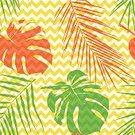 Summer,Beach,Decoration,Thailand,Leaf,Vector,Liana,Seamless,summer vacation,hawaiian party,Textile,Ornate,Cheese Plant,Nature,kentia,Pattern,Botany,Date Palm Tree,Brazil,Illustration