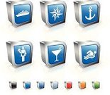 Compass,Symbol,Computer Icon,Swimming,Icon Set,Three-dimensional Shape,Vacations,Glass,Anchor,Swimming Pool,Travel,Business Travel,Room Service,Square Shape,Martini,Sparse,Blue,Orange Color,Modern,Reflection,Empty,Green Color,Metal,People Traveling,Leisure Activity,Cruise Ship,Red,Recreational Pursuit,Stick Figure,Alcohol
