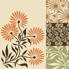 Nature,Floral Pattern,Flower,Pattern,Seamless,Backgrounds,Design Element,1940-1980 Retro-Styled Imagery,Design,Old-fashioned,Orange Color,Vector,Botany,Leaf,Green Color,Springtime,Textured Effect,Branch,Growth,Repetition,Cute,Bouquet,Brown,Cultures,Blossom,Wallpaper Pattern,Deco,Ilustration,Elegance,Beige,Plant,Style,Multi Colored,Summer,Part Of,Pastel Colored,Turning,Nature Abstract,Nature Backgrounds,Flowers,Nature