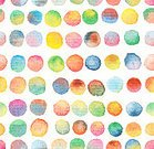 Freehand Drawing,Horizontal,Abstract,No People,Illustration,Seamless Pattern,Circle,Watercolor Painting,Backgrounds,Violet,Orange Color,Blue,Vibrant Color,Multi Colored,Red,Pattern,Purple,Pink Color,Spotted,Yellow,Polka Dot,Brown,Green Color