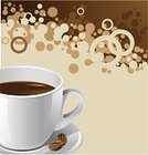 Coffee - Drink,Chocolate,Backgrounds,Coffee Bean,Coffee Cup,Coffee Crop,Cup,Bubble,Vector,Cream,Splashing,Abstract,Liquid,Drink,Brown,Drop,Cappuccino,Ilustration,White,Latte,Espresso,Black Color,Creativity,Painted Image,Mocha,Drinks,Illustrations And Vector Art,Food Backgrounds,Food And Drink