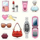 Teenage Girls,Little Girls,Symbol,Watch,Personal Accessory,Beauty Product,Women,Computer Icon,Perfume,Lipstick,Religious Icon,Vector,Telephone,Mobile Phone,Bag,Mothers Day,Electric Razor,Key,Sunglasses,Mother,Shaving,Set,Female,Shoulder Bag,Luggage,Global Communications,House Key,Shaving Equipment,Instrument of Time,Communication,Sexuality,Vector Icons,People,Illustrations And Vector Art,hand watch,Beauty And Health
