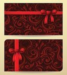 Design,Classical Style,Pattern,Decoration,Floral Pattern,template,Gift,Set,Illustration,Design Element,Certificate,Abstract,Greeting Card,Placard,Scroll Shape,Celebration,Blank,Greeting,Ornate,Label,Retro Styled,Invitation,Brown,Backgrounds,Elegance,Old-fashioned,Vector