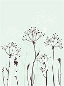 Flower,Leaf,Silhouette,Autumn,Plant,Pattern,Vector,Sparse,Abstract,Computer Graphic,Backgrounds,Simplicity,Grass,Ilustration,Design,Branch,Meadow,Growth,Nature,Formal Garden,Design Element,Botany,Elegance,Field,Uncultivated,No People,Season,Outdoors,Vector Backgrounds,Nature Backgrounds,Vector Florals,Illustrations And Vector Art,Nature