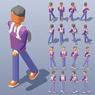 People,Low Poly,Young Men,Three Dimensional,Two-dimensional Shape,Three-dimensional Shape,Infographic,Hat,Right View,Rear View,character design,Travel,Vector,Modern,Isometric,Men,Style,Collection,The Human Body,Lifestyles,Front View,Left View,Illustration,Sports Clothing,Icon Set,Walking,Set,Choice,Backpack,Casual Clothing,Computer Icon