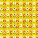Computer Graphics,Red,Yellow,Pattern,Plant Stem,Leaf,Daisy,Summer,Backgrounds,Computer Graphic,Illustration,No People,Vector