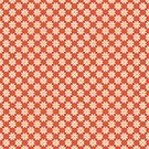 Red,Pattern,Daisy,Backgrounds,Repetition,Illustration,No People,Vector