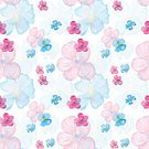 Illustration,Pattern,Seamless,Multi Colored,Repetition,Flower Head,Abstract,Petal,Botany,Red,Backgrounds,Nature,Pink Color