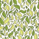 Summer,Curve,Vector,Seamless,Computer Graphic,Decor,Ornate,Season,Repetition,Shape,Decoration,Tree,Leaf,Abstract,Illustration,Swirl,Eternity,Pattern,Nature,Drawing - Activity,Sketch,Backgrounds